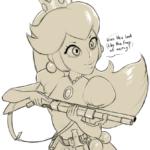 Peach has had enough sketch